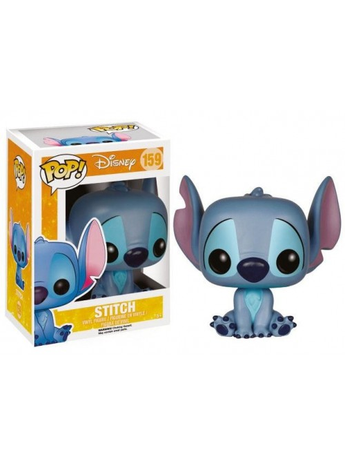 Figura Funko POP Stitch (Seated) - Lilo & Stitch