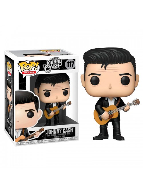 Figura Funko POP Johnny Cash Tocando la guitarra