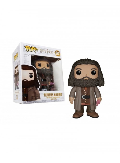 Figura Funko POP Ruebus Hagrid - Harry Potter 15cm