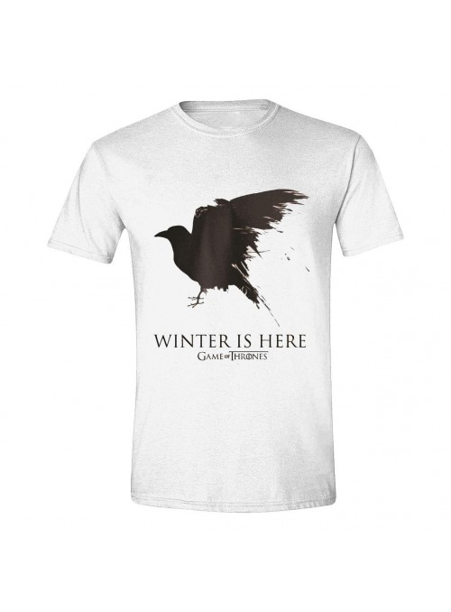Camiseta Winter is here - Juego de Tronos