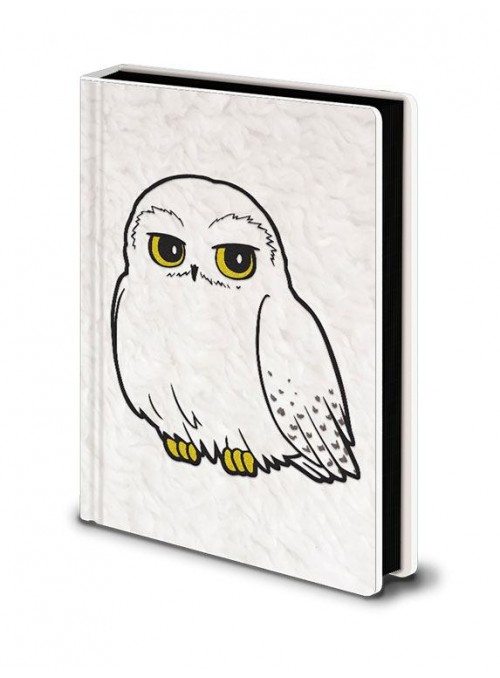 Libreta Premium A5 Hedwig Fluffy - Harry Potter