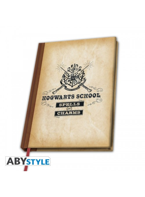 Libreta A5 Hogwarts School - Harry Potter