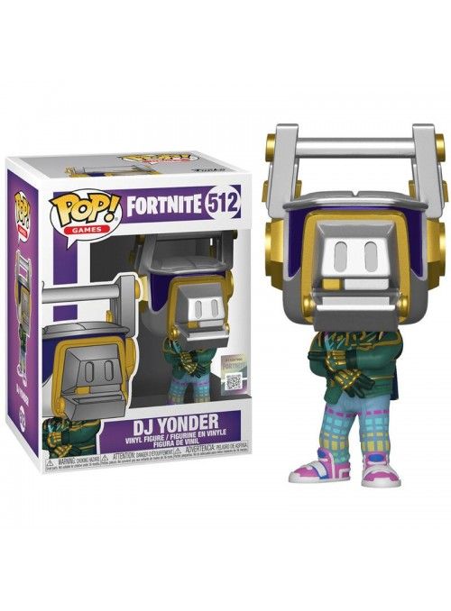 Figura Funko POP DJ Yonder - Fortnite