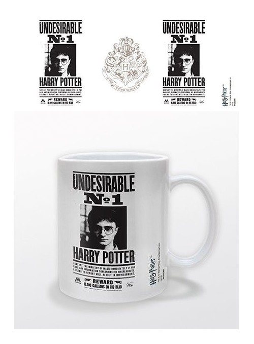 Taza Undesirable No 1 - Harry Potter
