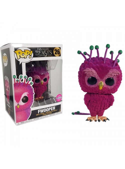 Figura Funko POP Fwooper (Flocked)-Fantastic Beasts 2