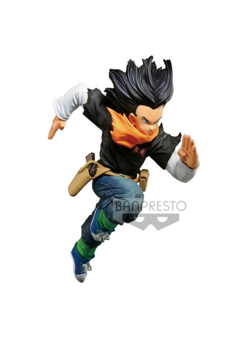 Figura Androide A-17 World Figure Colosseum 16cm - Dragon Ball Z