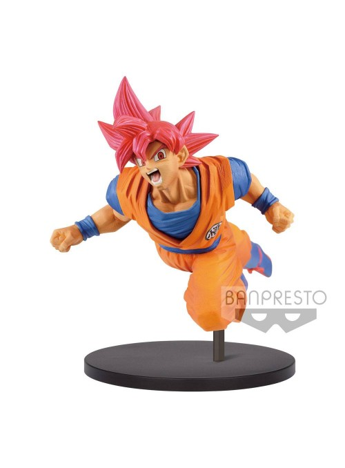 Figura Super Saiyan God Son Goku - Goku FES!! - Dragon Ball Z