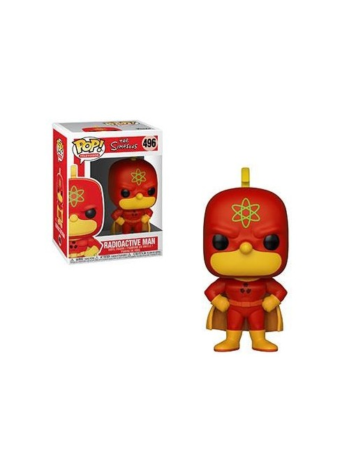 Figura Funko POP Radioactive Man - Simpsons