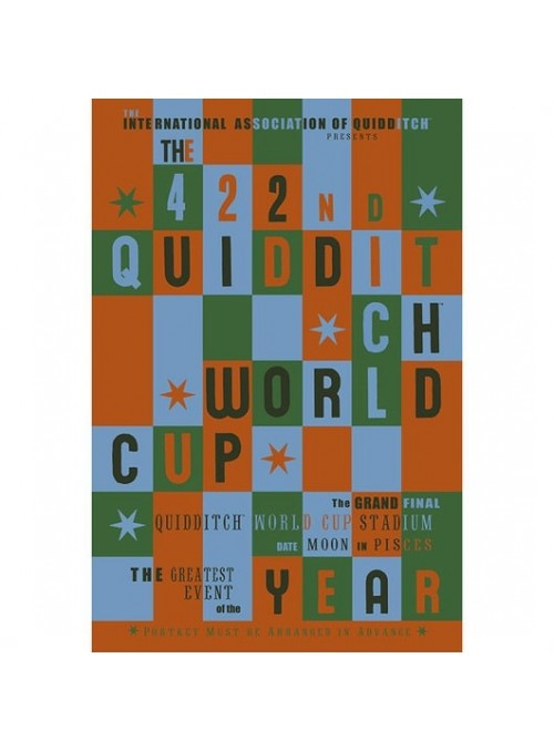 Poster Quidditch Word Cup - Harry Potter