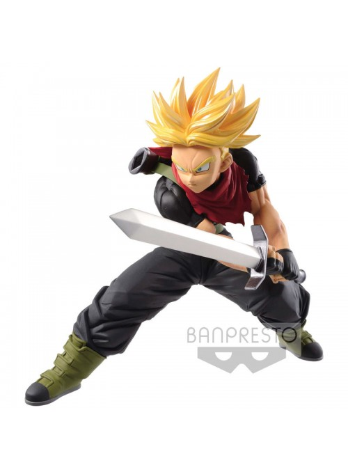 Figura Transcendence Art - Super Saiyan Trunks - Super Dragon Ball Heroes