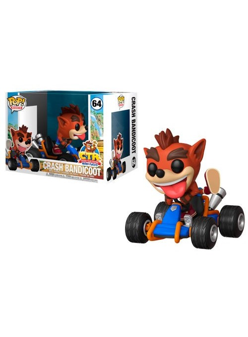 Figura Funko POP Crash Bandicoot - Crash Team Racing