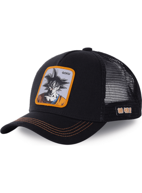 Gorra Capslab negra Son Goku - Dragon Ball