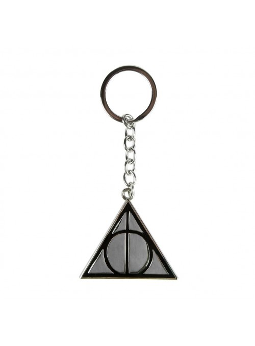 Llavero metalico Deathly Hallows - Harry Potter
