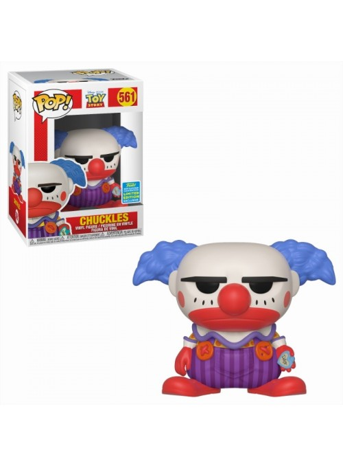Figura Funko POP Chuckles exclusivo SDCC - Toy Story