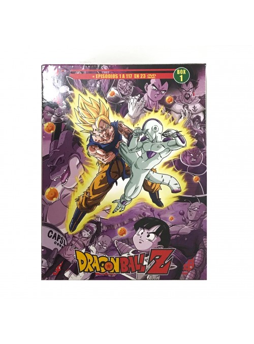 Dragon Ball z Saga Completa Box 1 ep 1 al 117 .DVD
