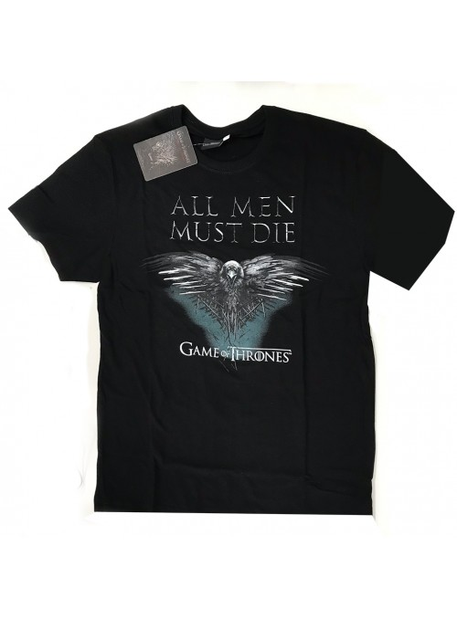 "Camiseta ""All Men Must Die""- Juego de Tronos"