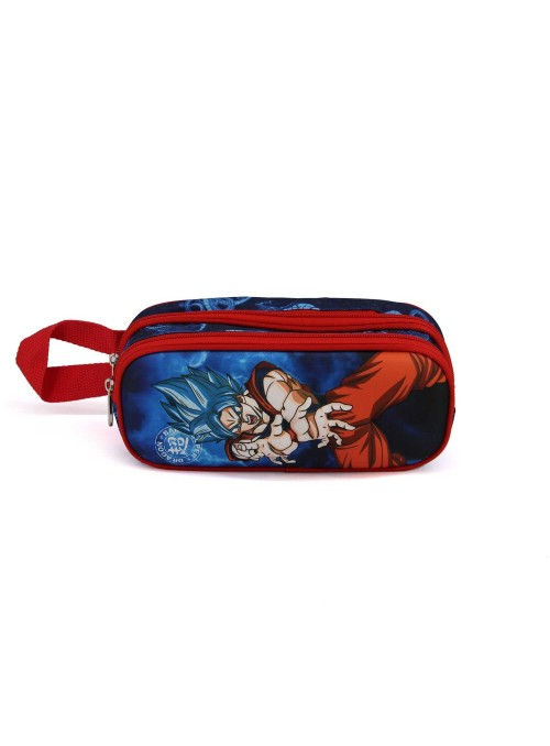 Estuche doble 3D Goku blue - Dragon ball