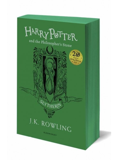 arry Potter and the Philosopher's Stone (Slytherin Edition) English
