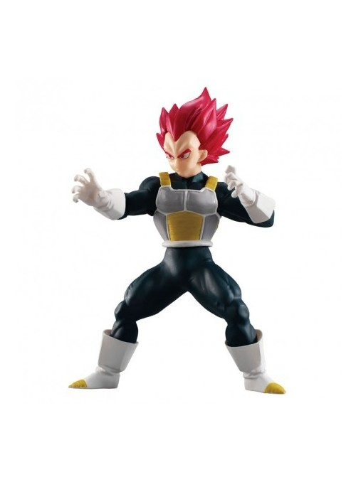 Figura de Colección Vegeta Super Saiyan God 11cm - Dragon Ball