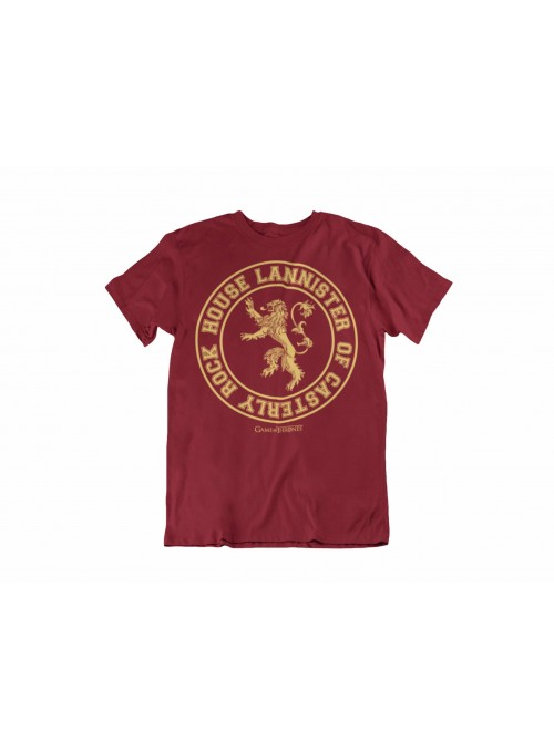 Camiseta House Lannister of Casterly Rock