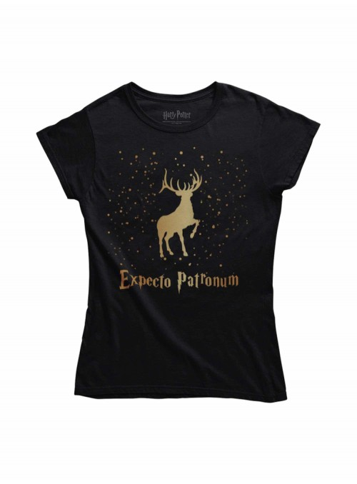 Camiseta Expecto Patronum Dorado - Harry Potter