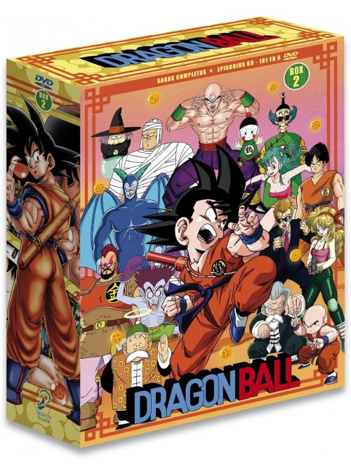 Dragon Ball Saga Completa Box 2 ep 69 al 101 .DVD