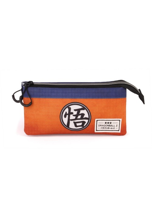 Estuche Triple naranja - Dragon Ball