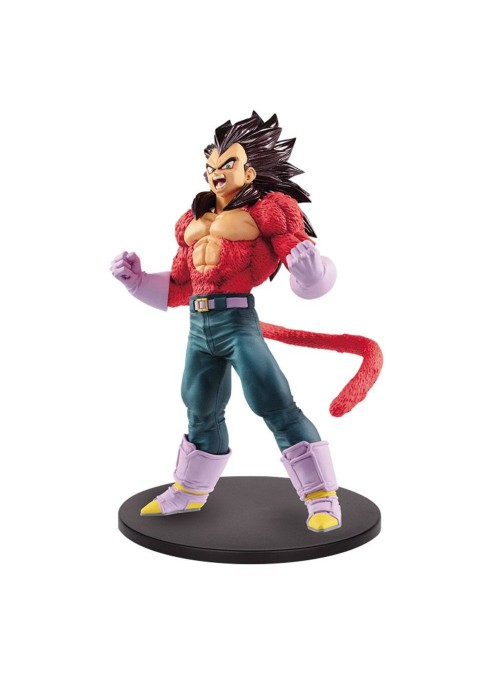 Figura de Vegeta Saiyans Super Saiyan 4 - Blood of Saiyans - Dragon Ball