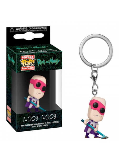 Llavero Pocket Funko POP Noob-Noob - Rick & Morty