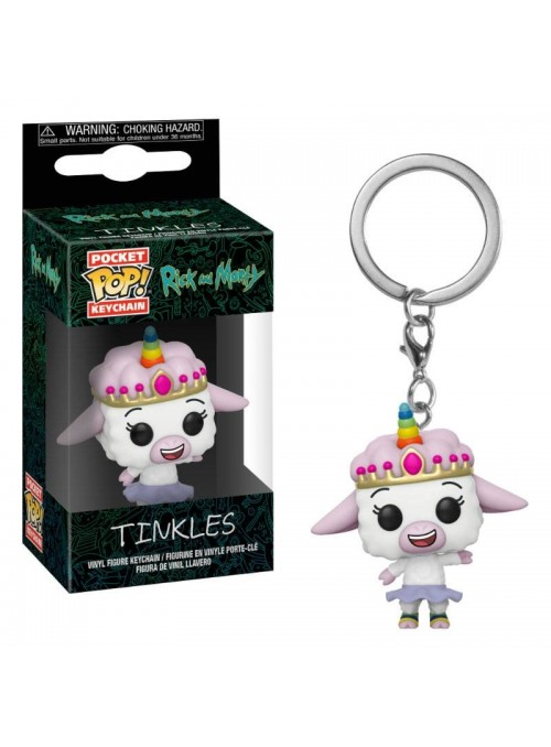 Llavero Pocket POP Tinkles - Rick & Morty