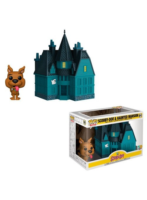 Figura Funko POP Town Scooby Doo Haunted Mansion - Scooby Doo