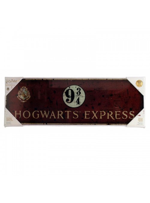 Poster cristal Hogwarts Express - Harry Potter
