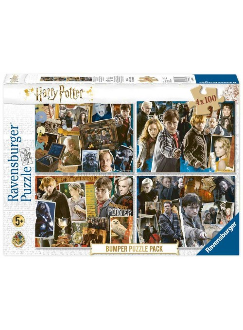 Puzzle Bumper Pack 4x100 - Harry Potter