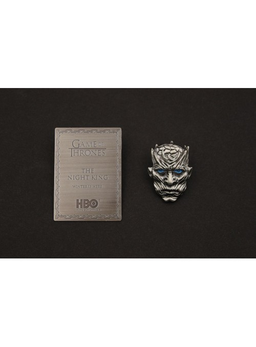 Pin placa Night King - Juego de tronos