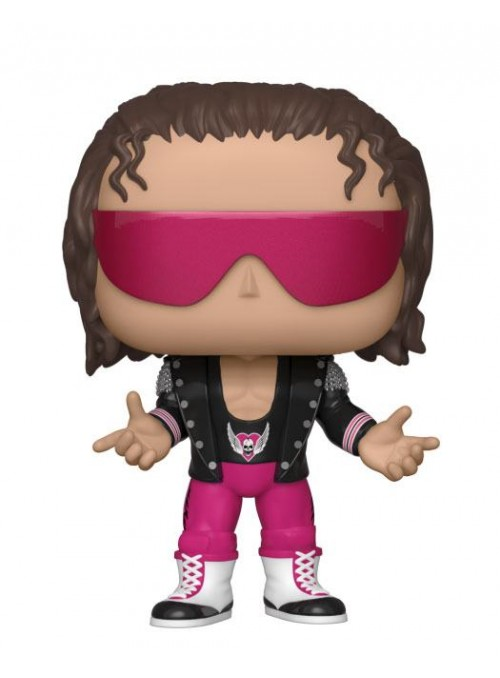 Figura Funko POP Bret Hart with Jacket - WWE