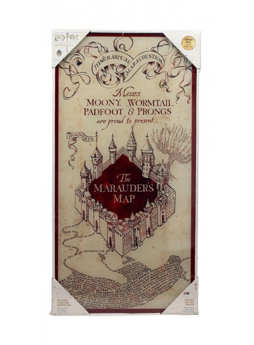 Póster de Vidrio Marauder's Map 30 x 60 cm - Harry Potter