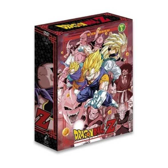 Dragon Ball z Saga Completa Box 2 ep 200 a 291 .DVD