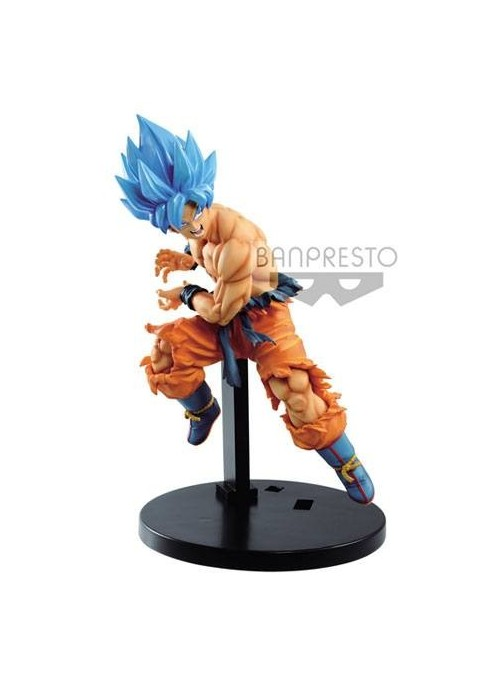 Figura Tag Fighters Super Saiyan God SS Son Goku - Dragon Ball Super
