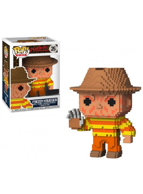 Figura Funko POP Freddy Krueger Exclusive - 8-Bit Nightmare on Elm Street