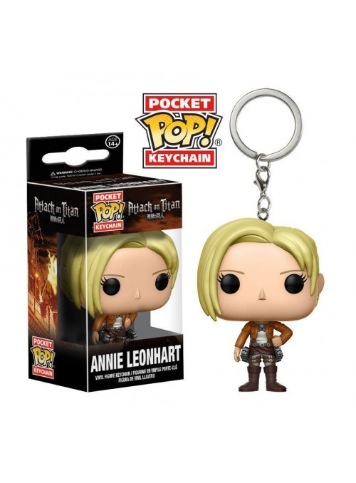 Llavero Pocket Funko POP Annie Leonhart - Attack on Titan
