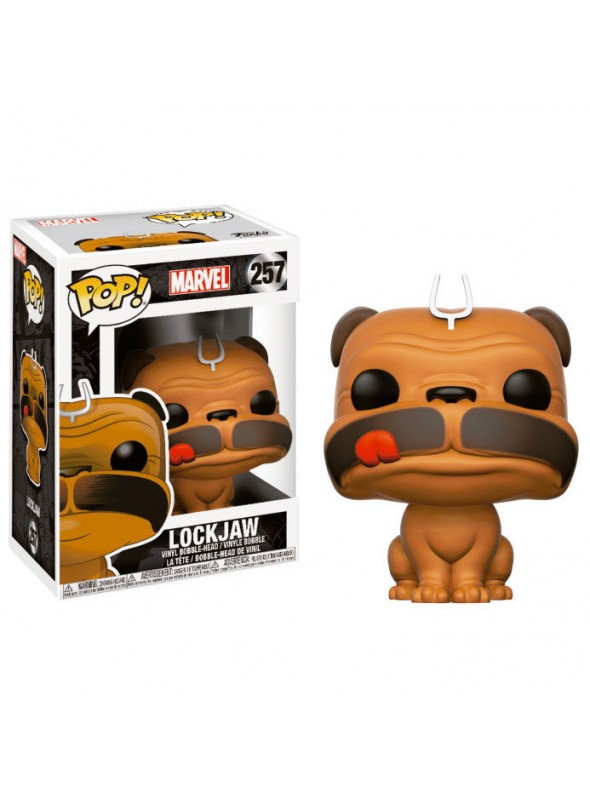 Figura Funko POP Lockjaw - Marvel