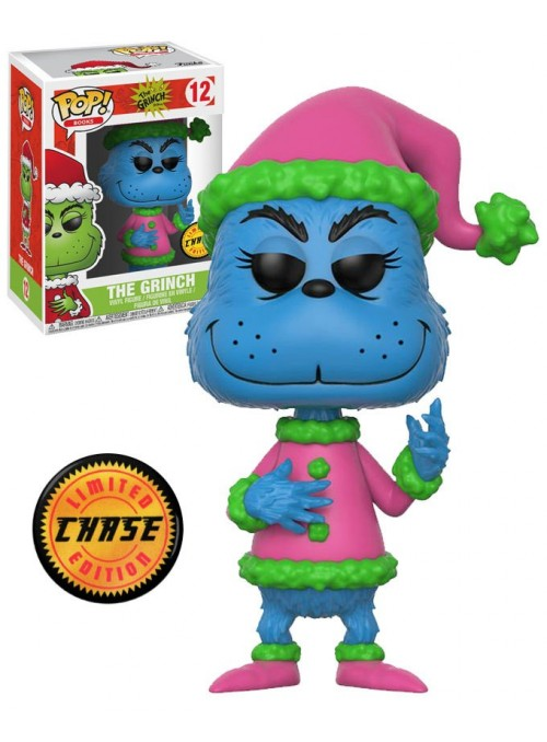 Figura Funko POP Grinch Disfraz Santa (Chase ) - The Grinch