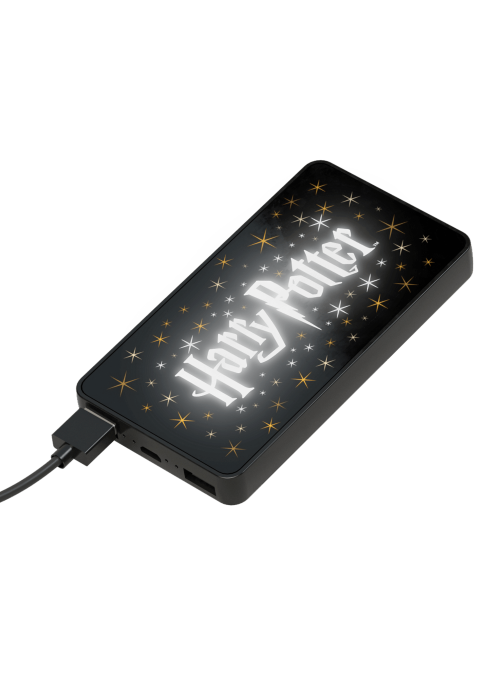 Powerbank 6000 mAh led light - Harry Potter