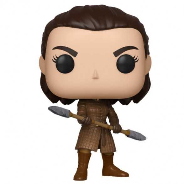Figura Funko POP Arya with Two Headed Spear - Juego de Tronos