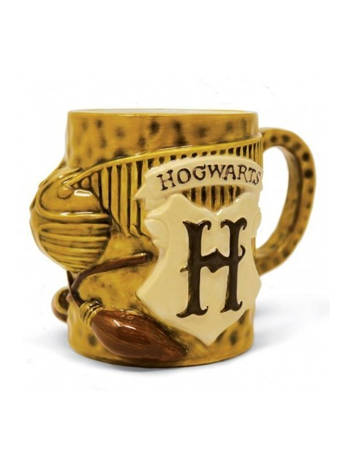 Taza esculpida Quidditch - Harry Potter
