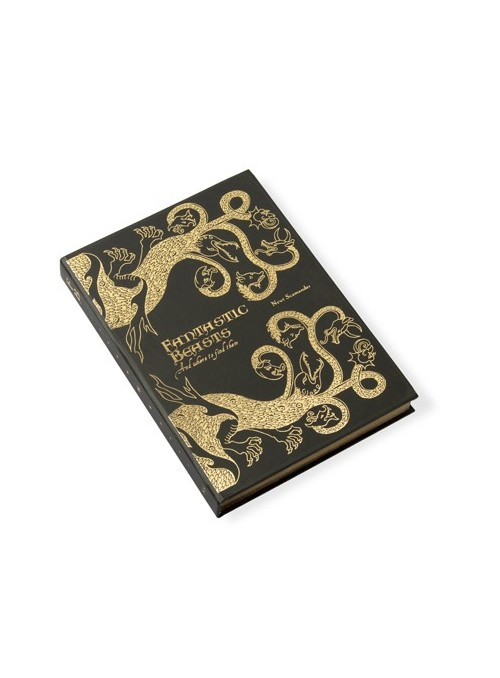 Libreta Fantastic Beasts and Where to Find Them' Journal - Harry Potter