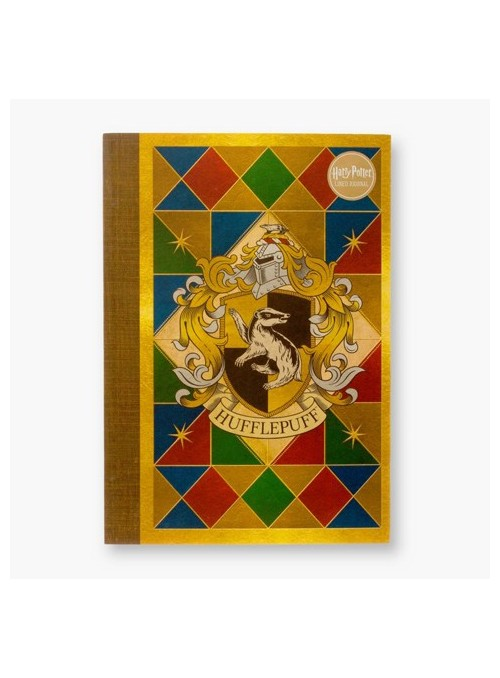 Libreta Hufflepuff House Crest - Harry Potter