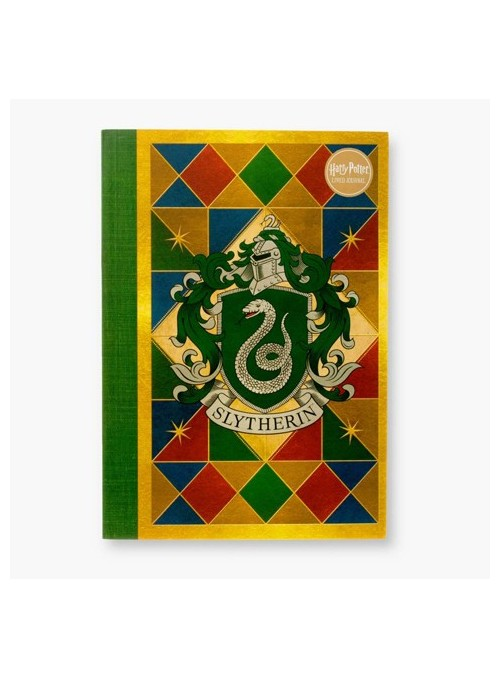 Libreta Slytherin House Crest - Harry Potter