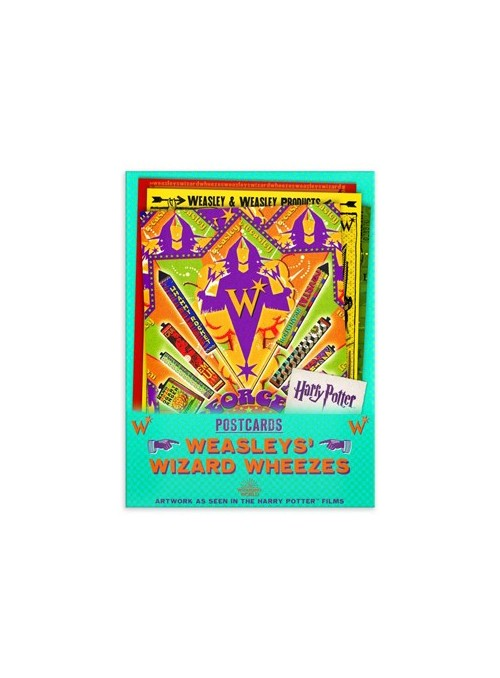 Postales The Weasleys' Wizard Wheezes Series 3 - Harry Potter