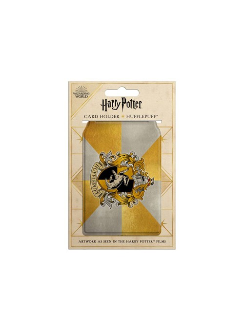 Tarjetero Hufflepuff - Harry Potter